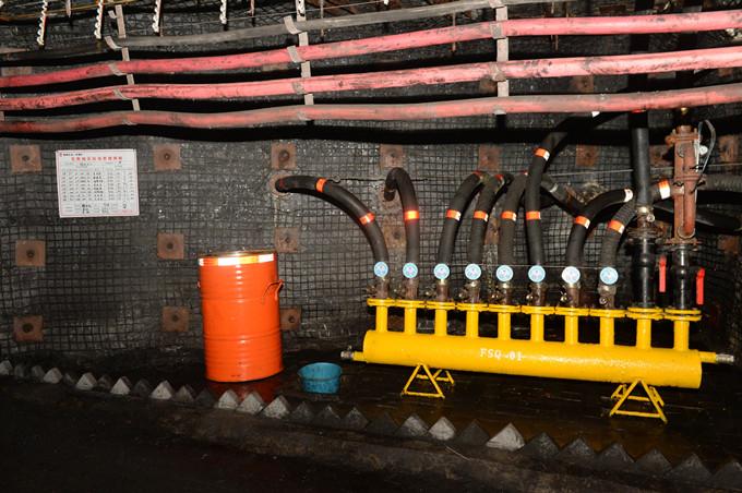 一号煤矿:废油桶的妙用-黄陵矿业集团有限公司